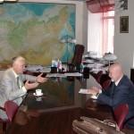 Академик В.П. Мельников и С.С. Зилитинкевич